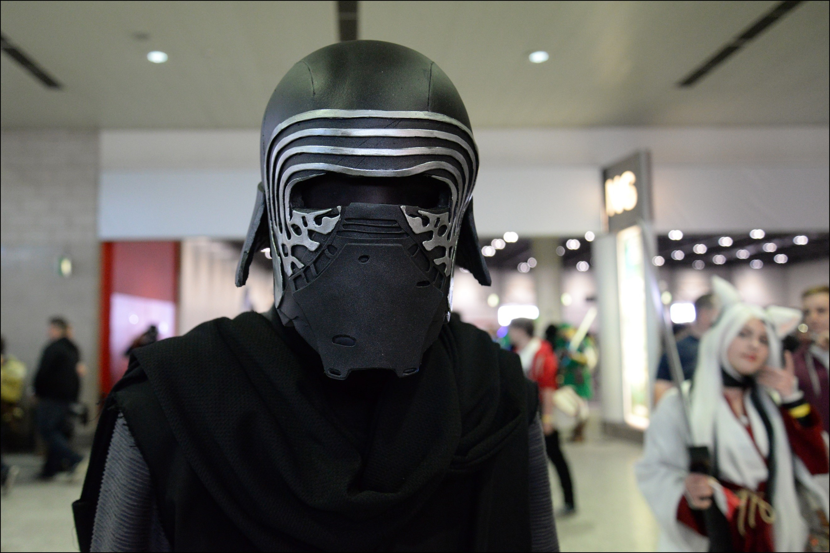 This is a costume of Kylo Ren