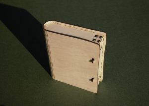 Living hinge book
