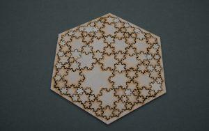 Laser-cut jigsaw