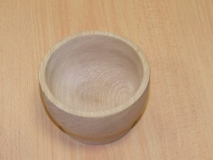 Wood turned bowl