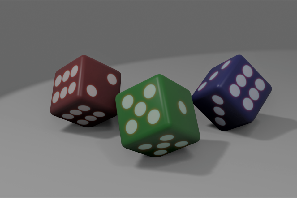 Nontransative Dice