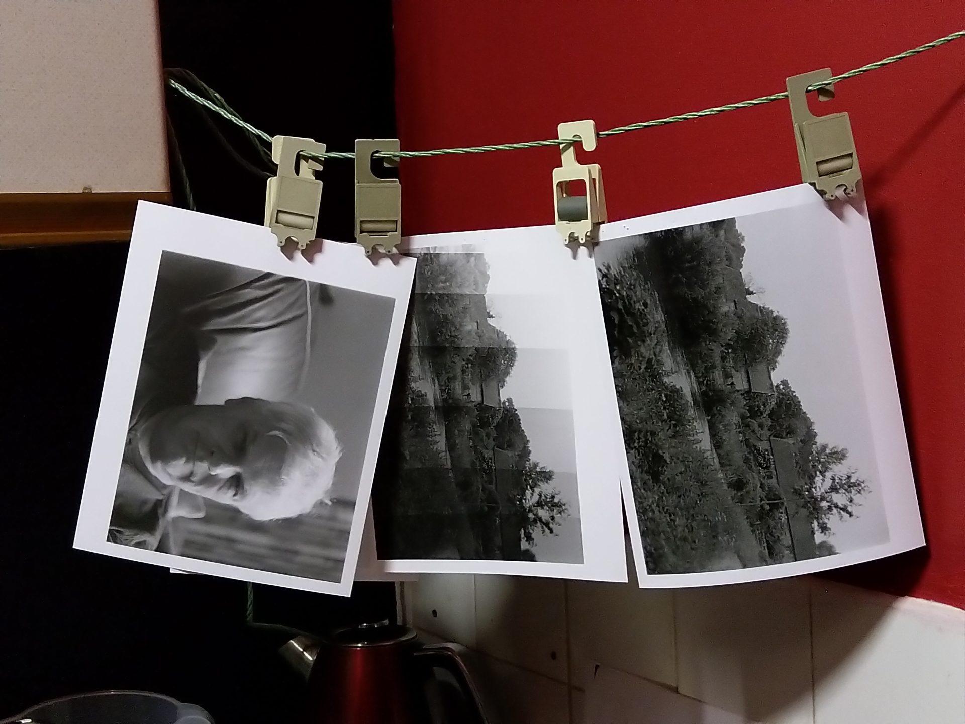 Darkroom print night