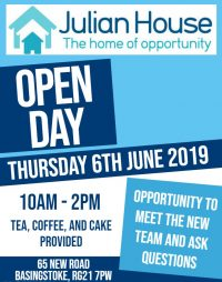 Julian House Open day Day Poster