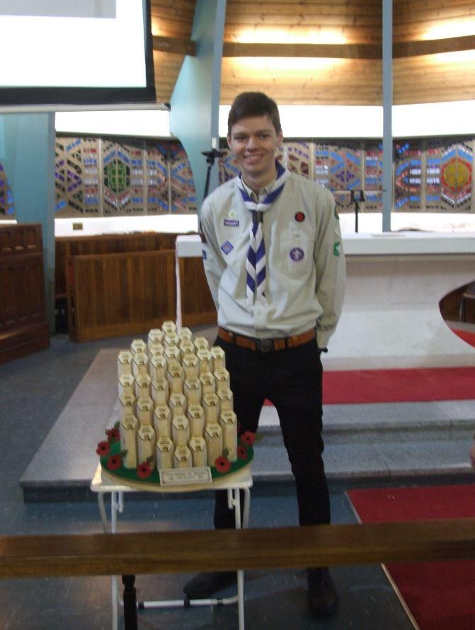 Memorial at St Pauls Church